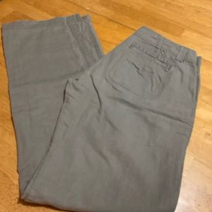 Linen/cotton pants by GAP